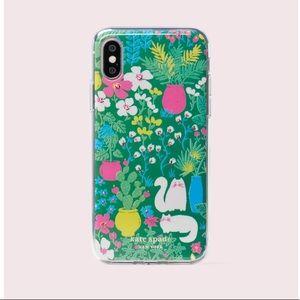 kate spade Garden Posy iPhone XS/X Case